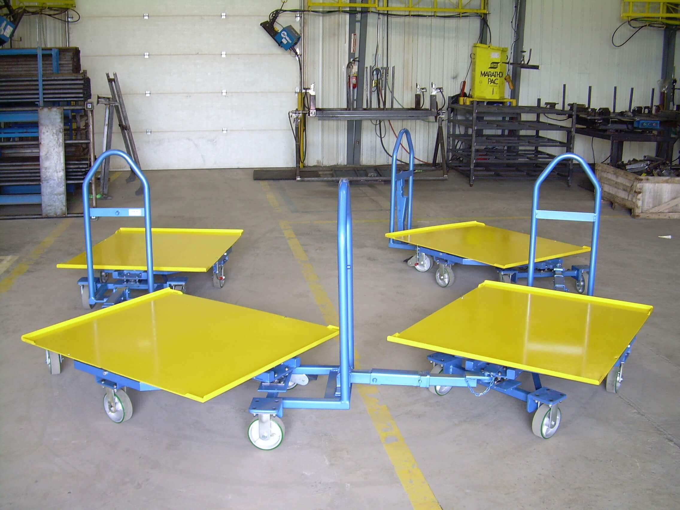 first-flexpipe-welded-steel-tow-carts-in-2005