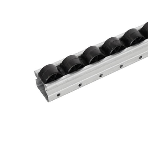 8' steel roller track (esd)
