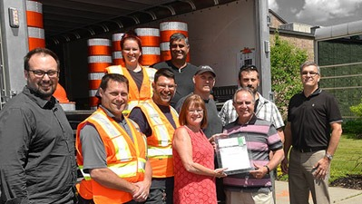 City of Blainville reduces road worker injuries with this simple solution!