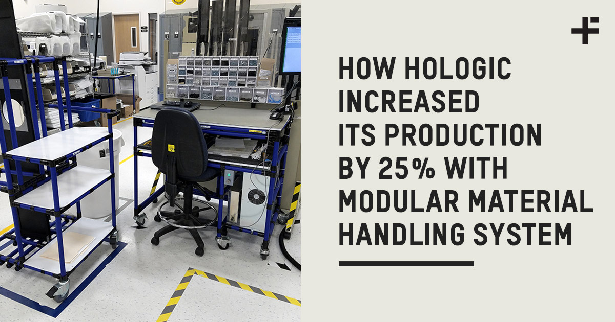HOW HOLOGIC INCREASED ITS PRODUCTION EFFICIENCY BY 25% WITH MODULAR MATERIAL HANDLING SYSTEM