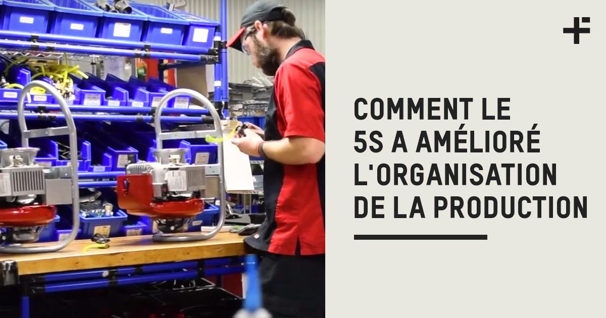 COMMENT L'INTéGRATION DU 5S A AMéLIORé L'ORGANISATION DE LA PRODUCTION CHEZ WATERAX