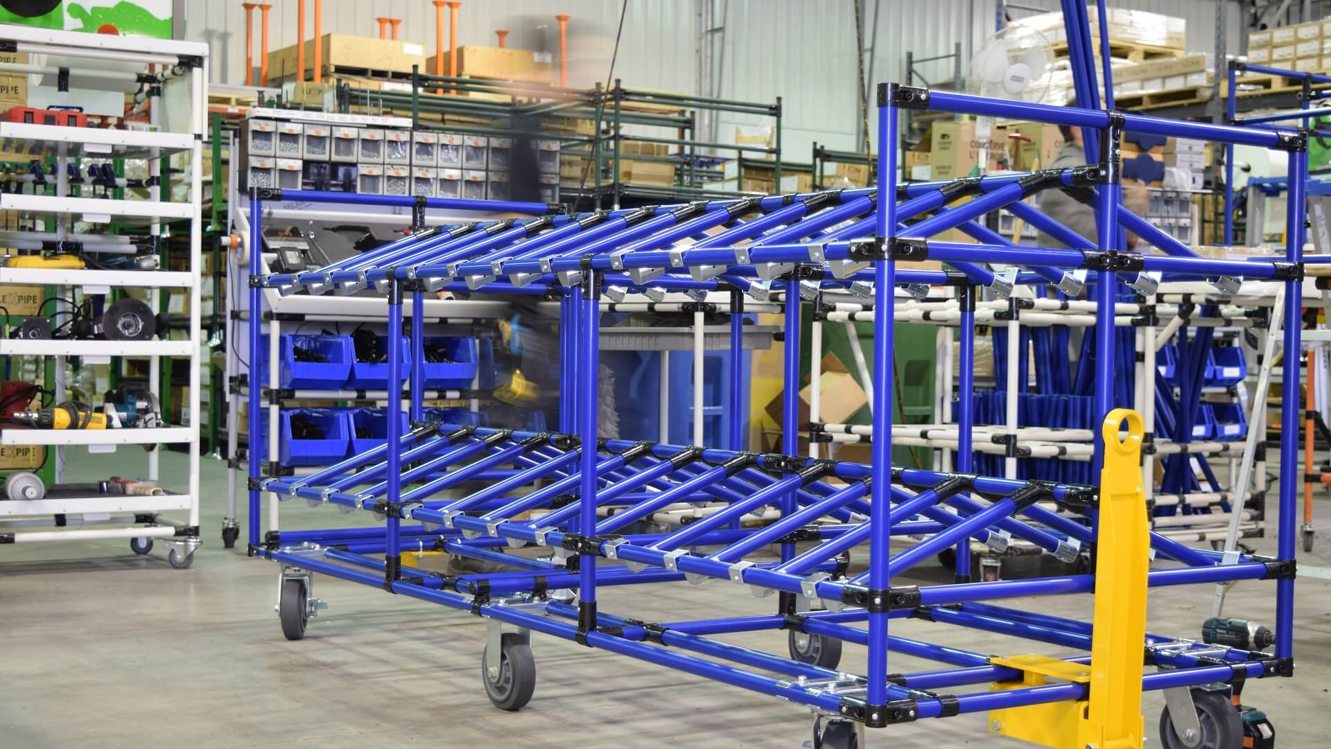 Custom Made Structures For Material Handling