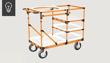 Assembly tips of the month - modular carts series