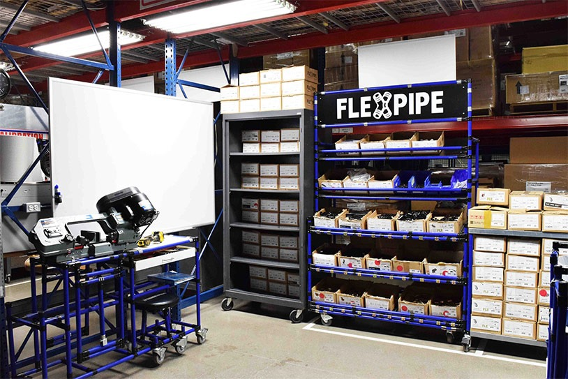 Flexpipe crib