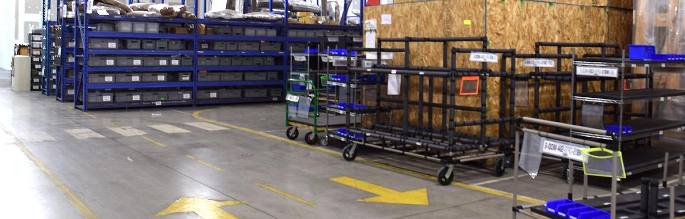 How modular carts help this logistics company improve its efficiency