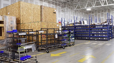 How modular carts help this logistics company improve its efficiency
