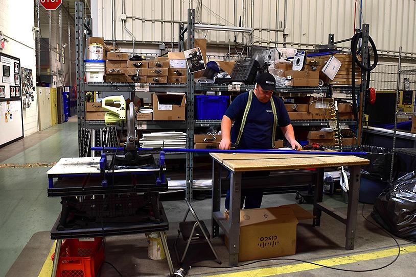 Employes coupant tuyaux modulaires