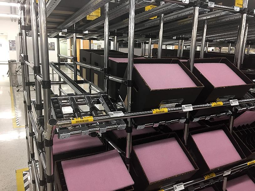 Flow rack part presentation