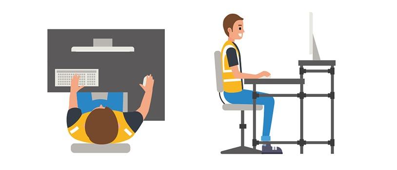 How to design ergonomic workstations