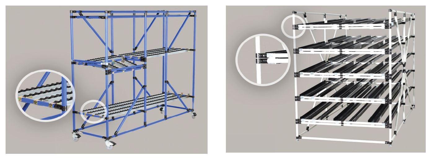 Flow Racks Loading Capacity Assembly tip