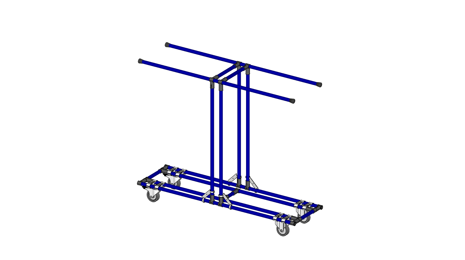 MOBILE RACK FOR AEROSPACE PARTS