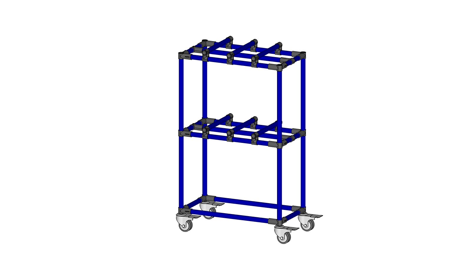 TEDLAR STORAGE CART