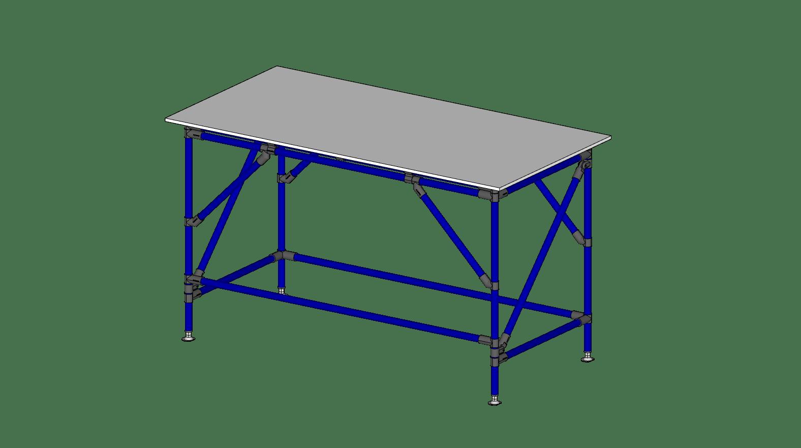 TABLE - 30'' X 60'' X 35'' H