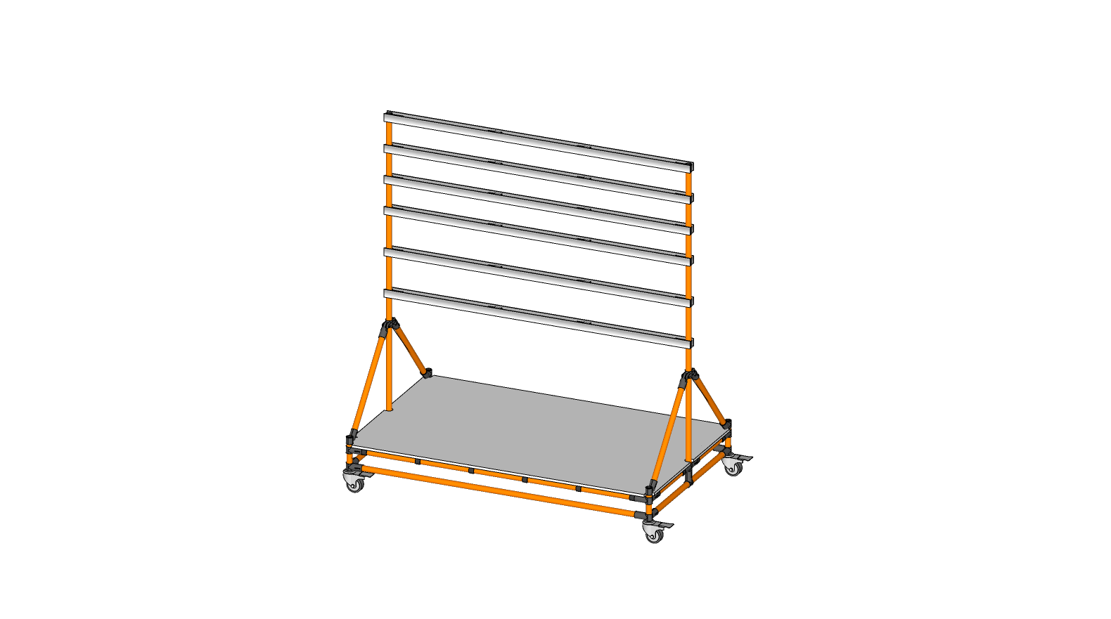 Double Sided Parts Bin Holder