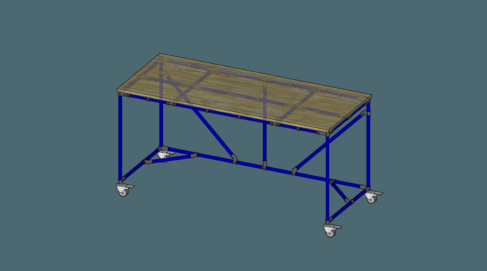 72x30 Practice Table