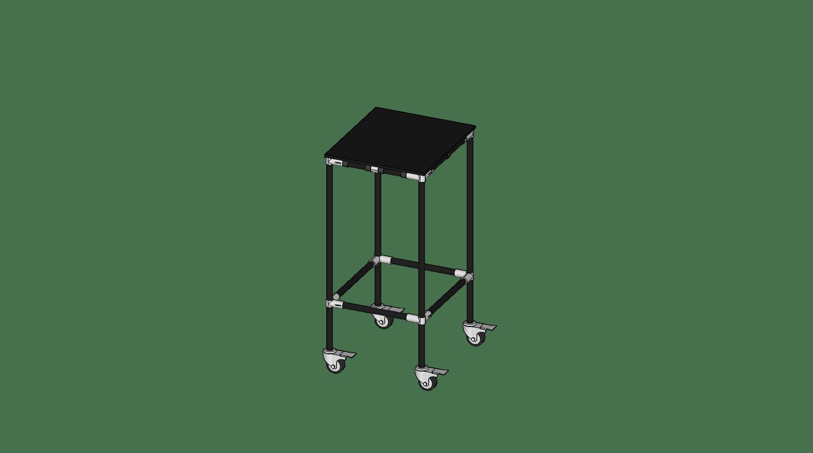 Table mobile antistatique