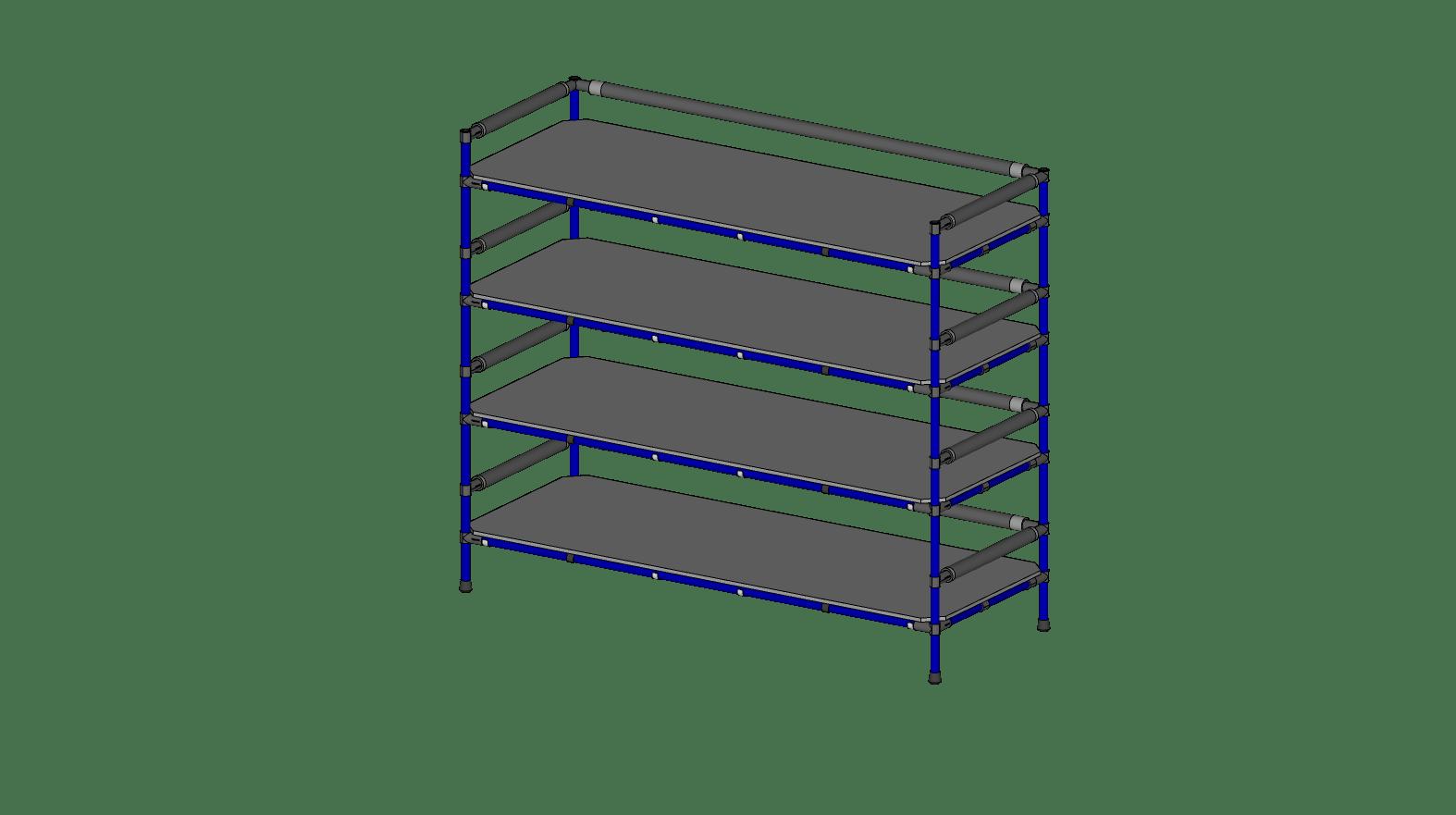 Storage Rack 60'' x 20''