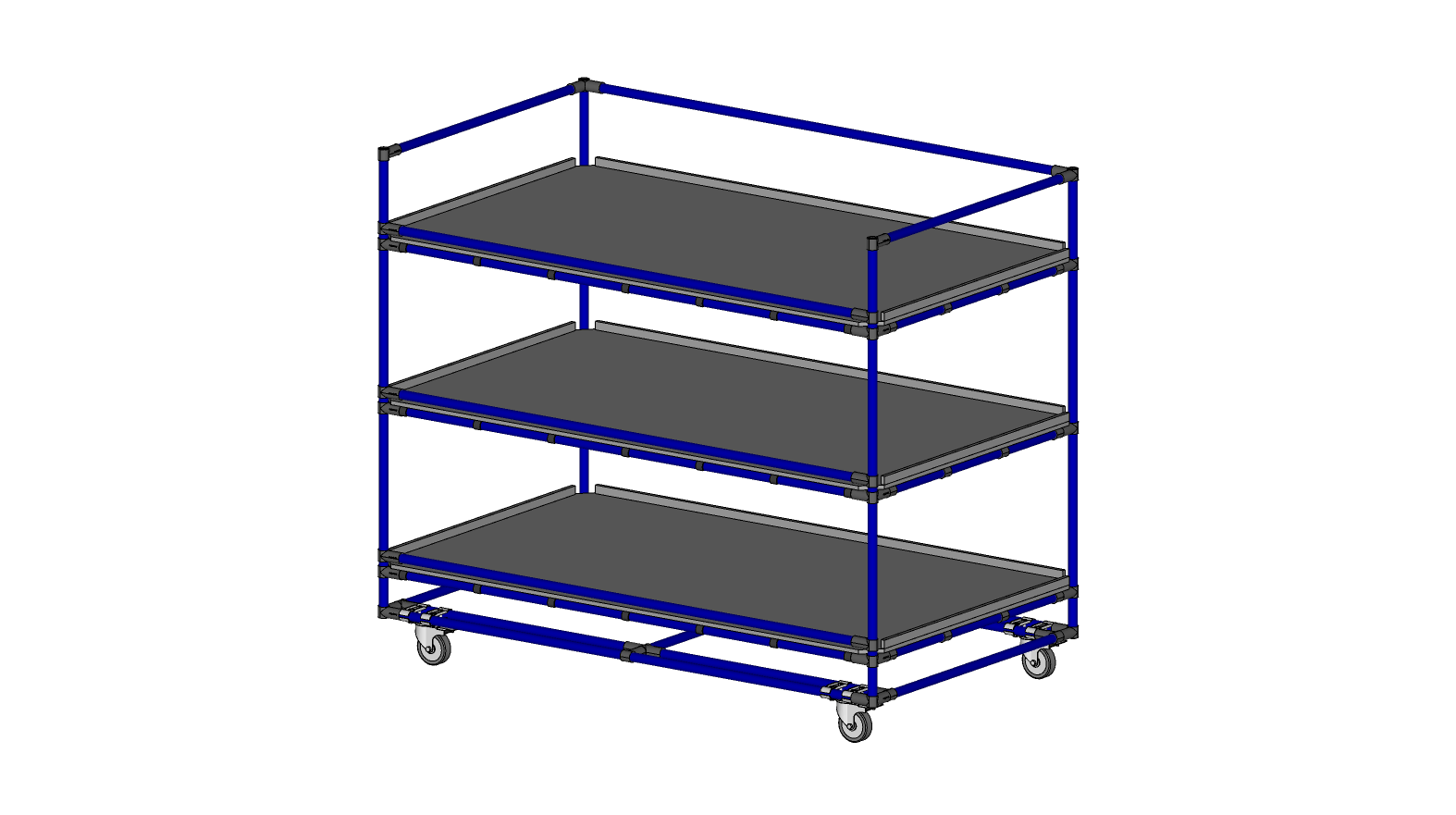 Mobile storage Rack