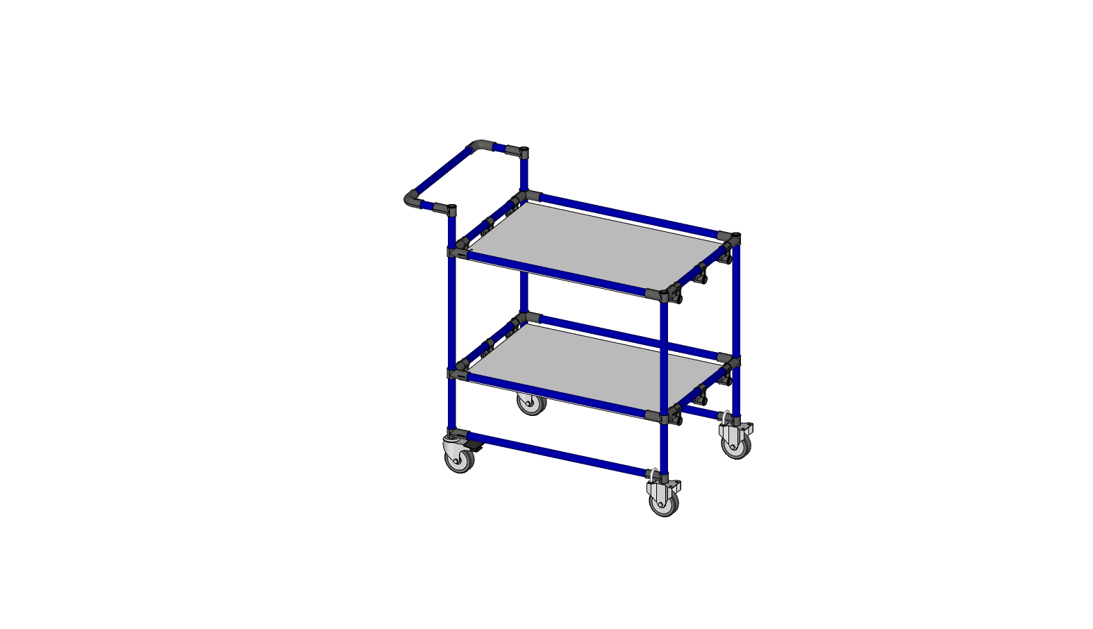 2 Shelf Cart