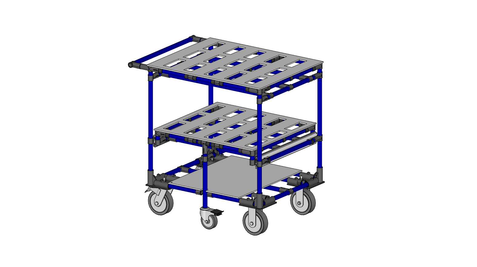 Heat Sink Kitting Cart