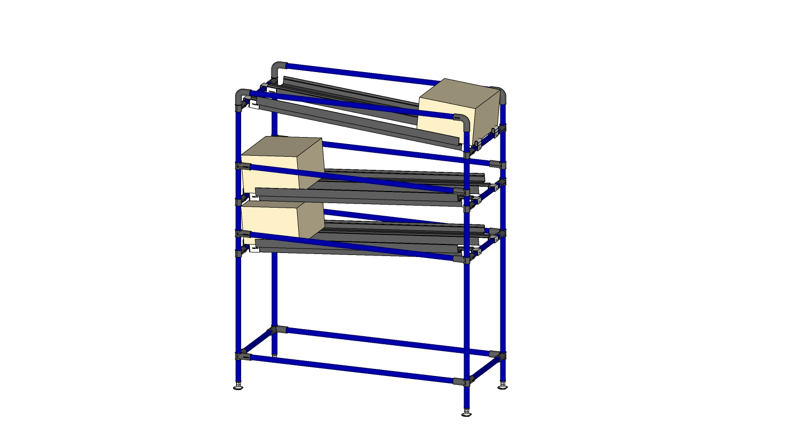 Flow Rack 2 IN 1 OUT