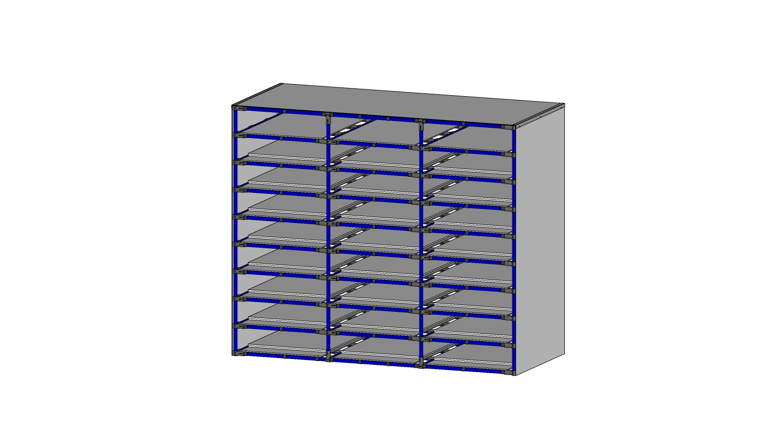 CARTOON BOX RACK (27 LOCATIONS)