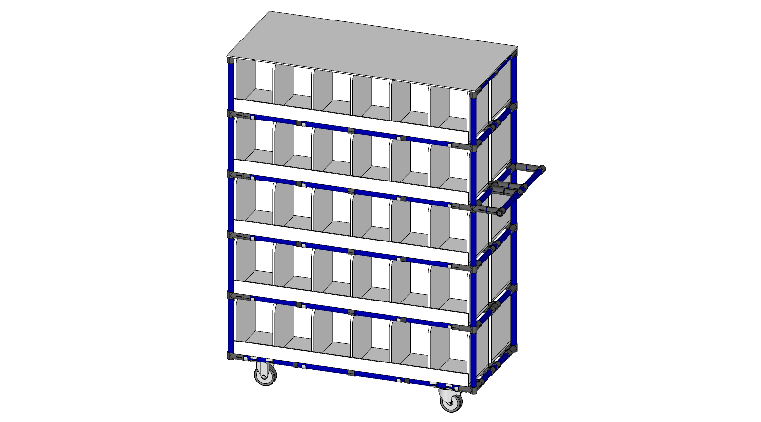 STORAGE RACK CUBBIES