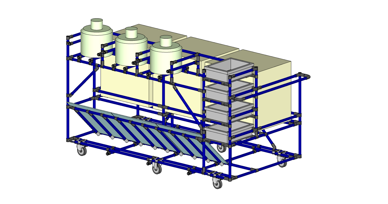KITTING CART FOR ASSEMBLY LINE