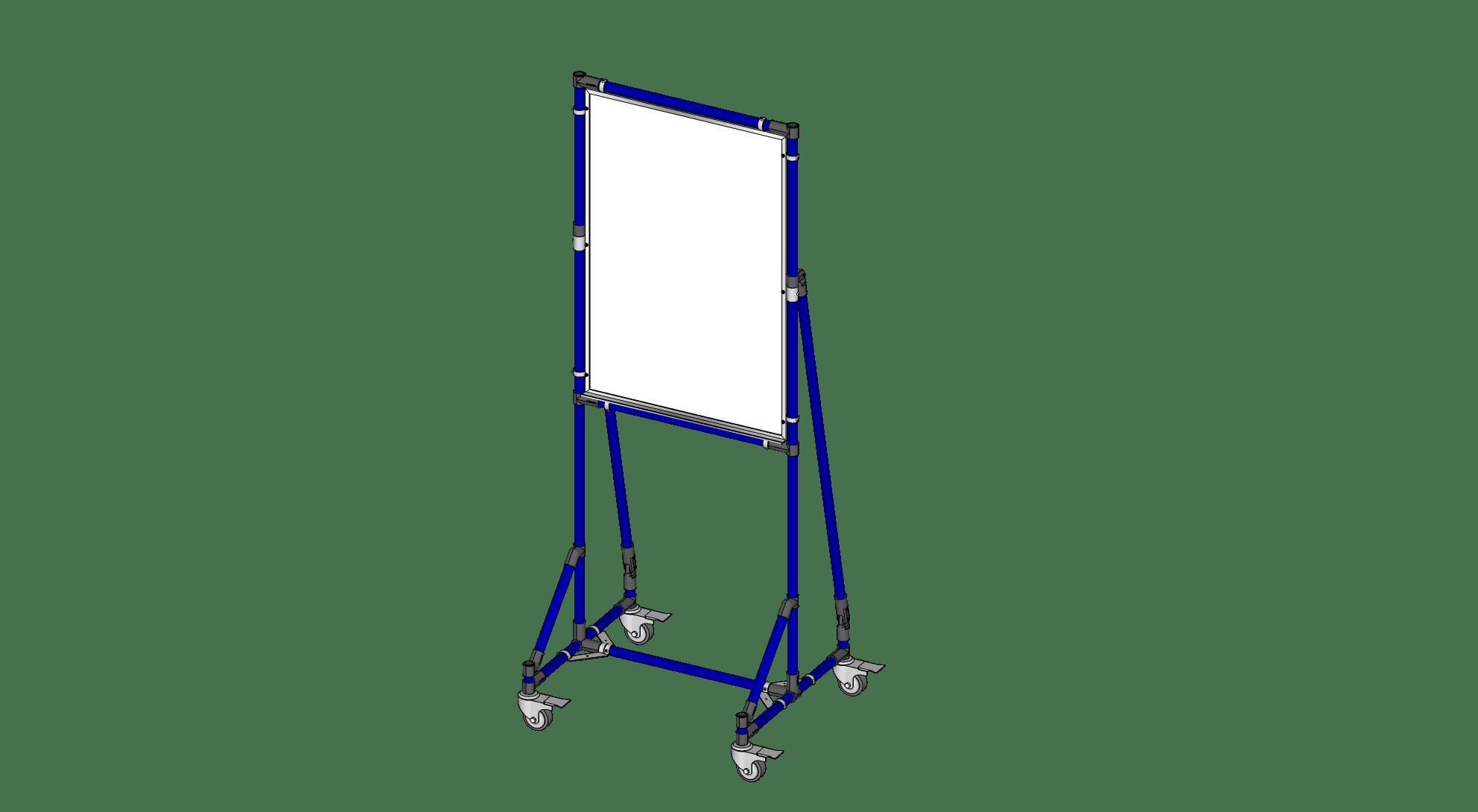 Single Sided 2' x 3' White Board