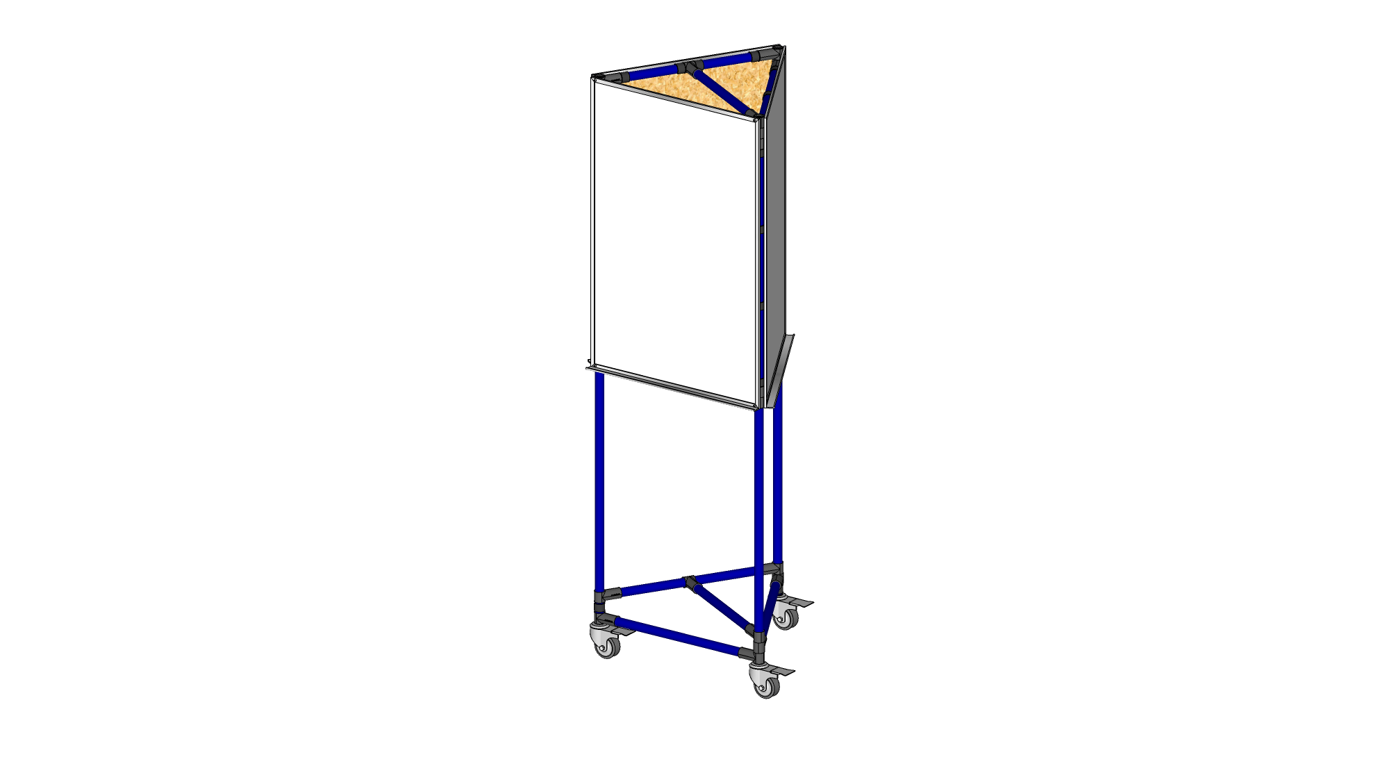 3 Sided 2' x 3' Whiteboard