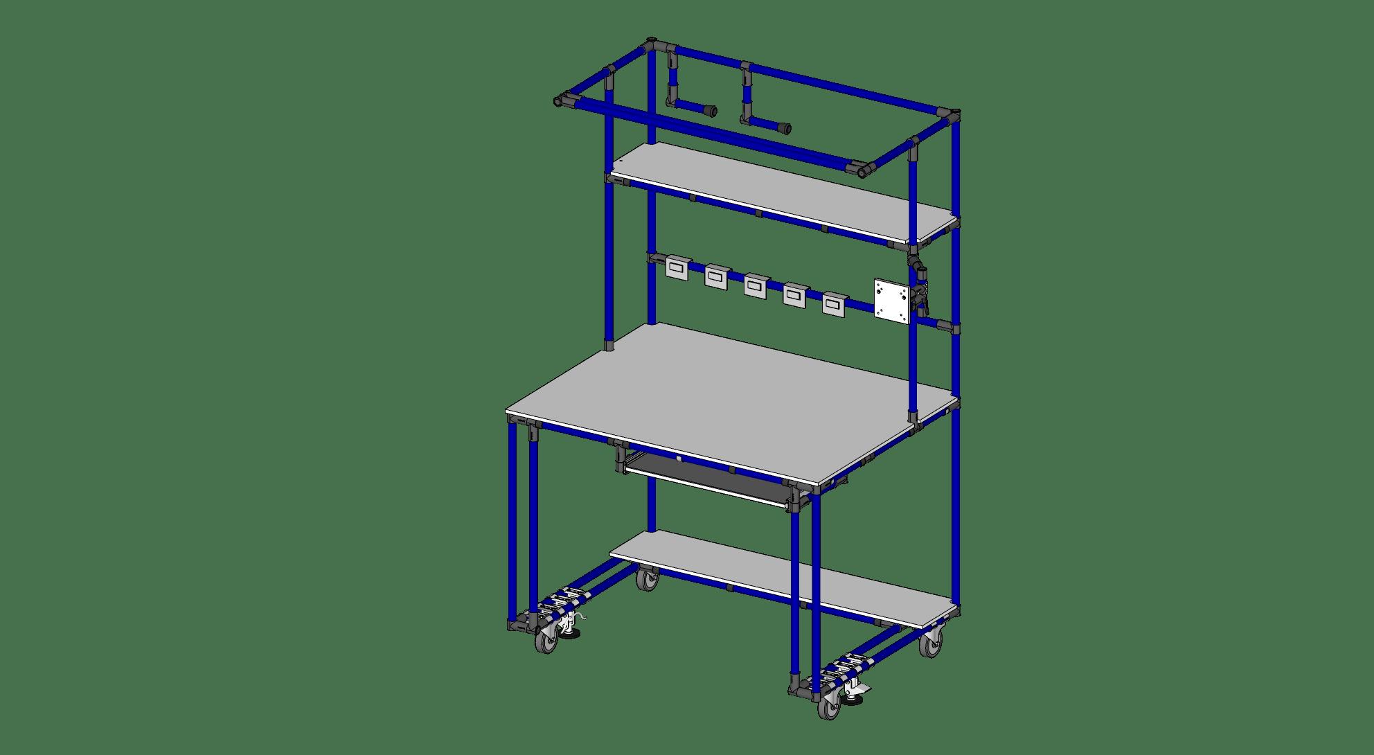 Computer & Labeling Station