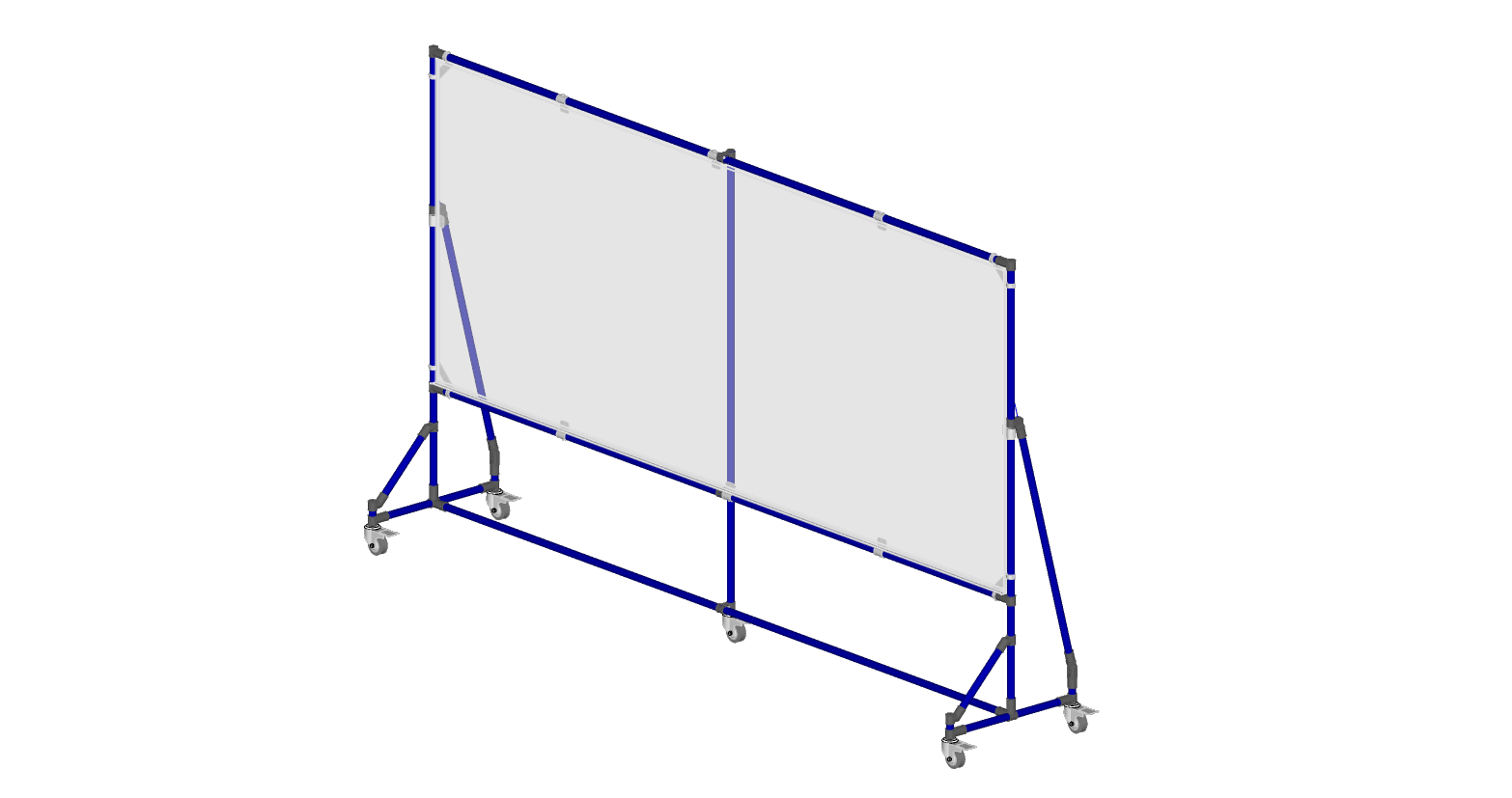 10' x 4' Whiteboard Frame