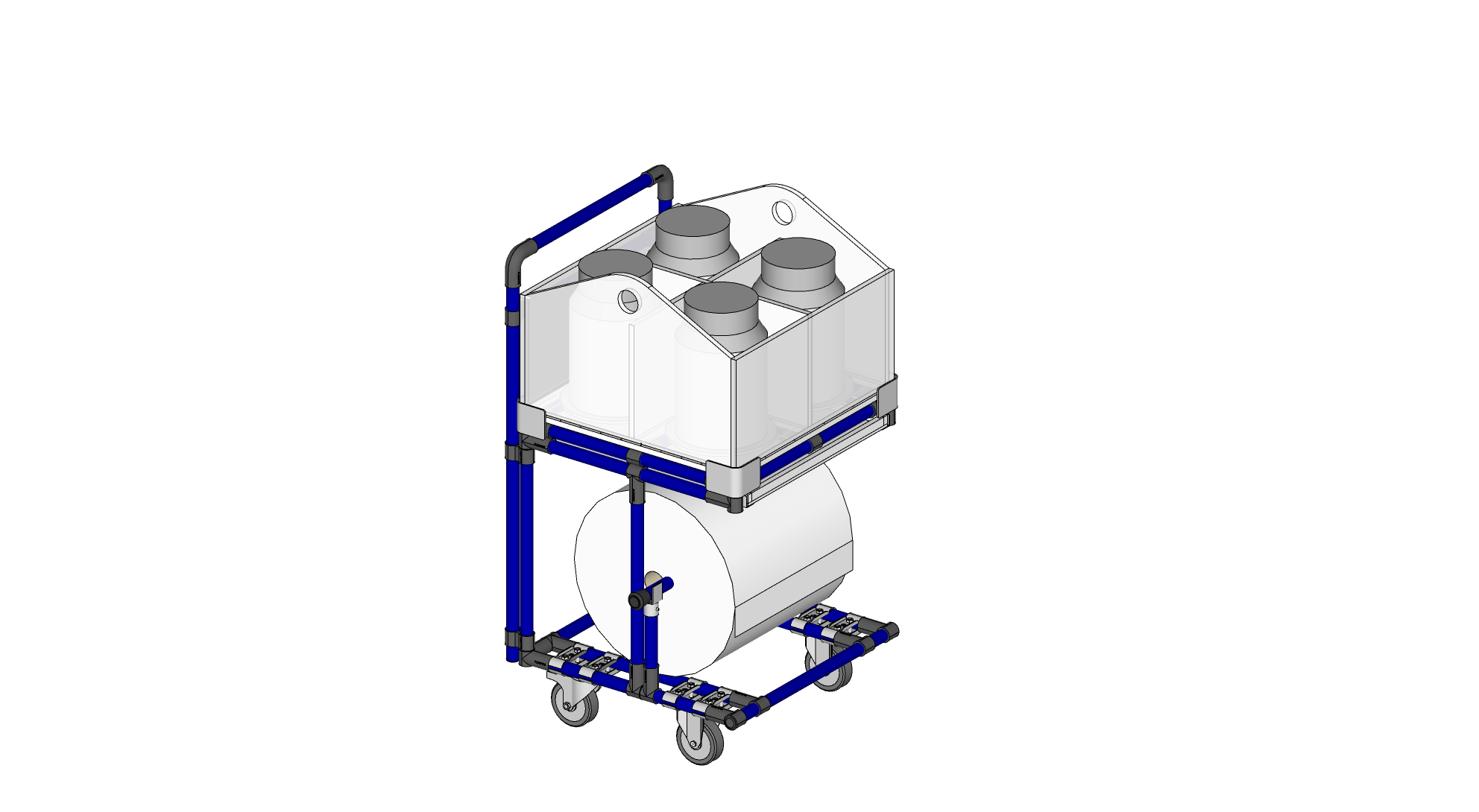 Cart WITH Removable Dip Box