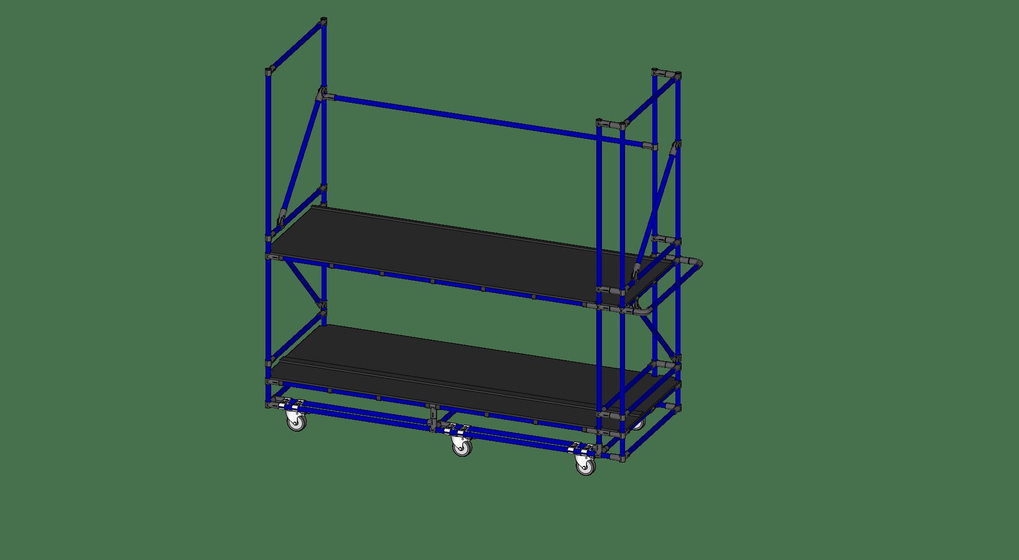Airplane Seat / Bench Cart