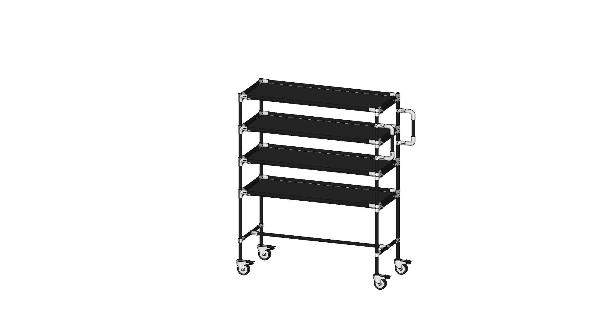 Mobile Assembly Line Rack
