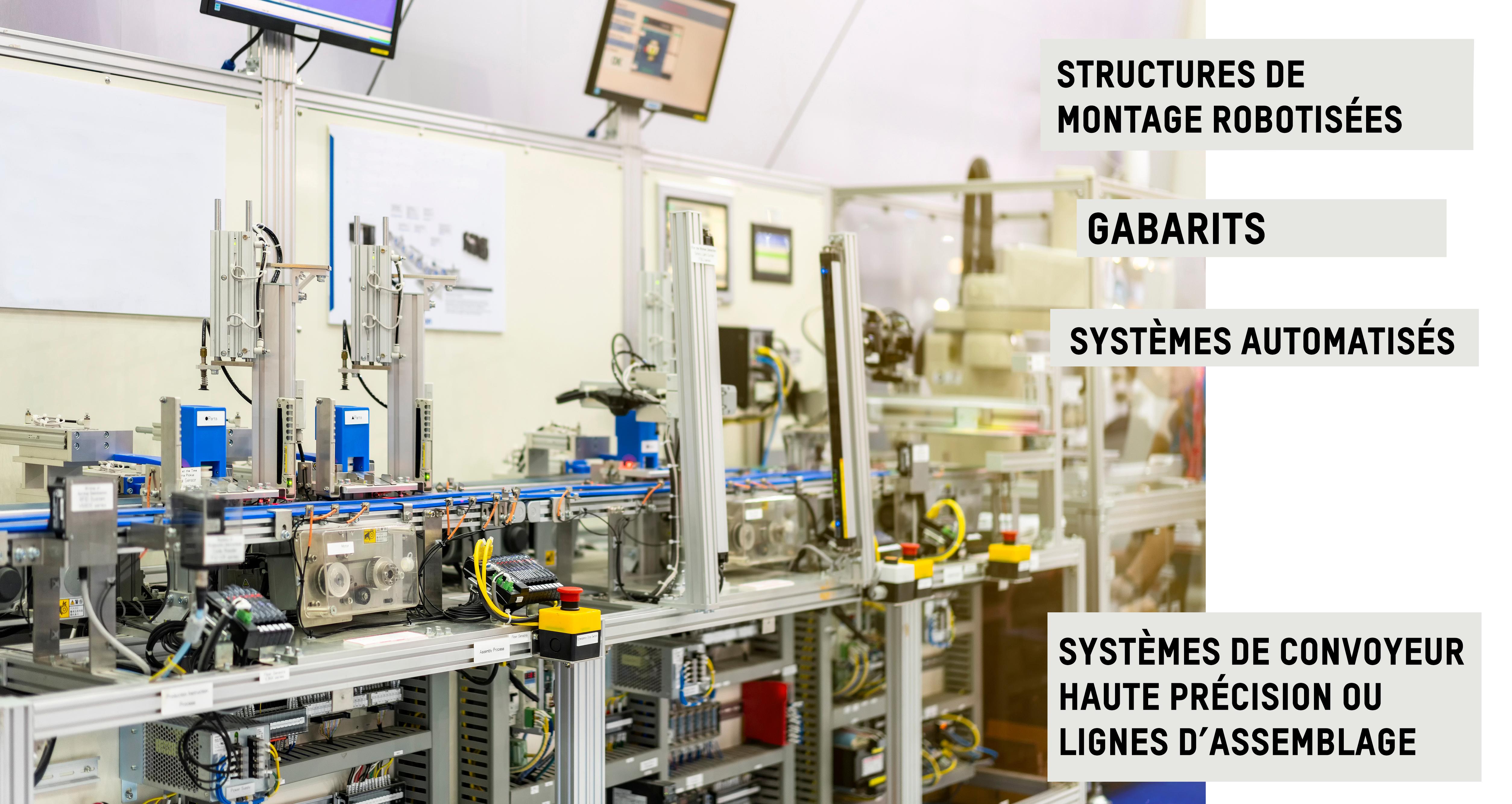 Structure pour la robotique