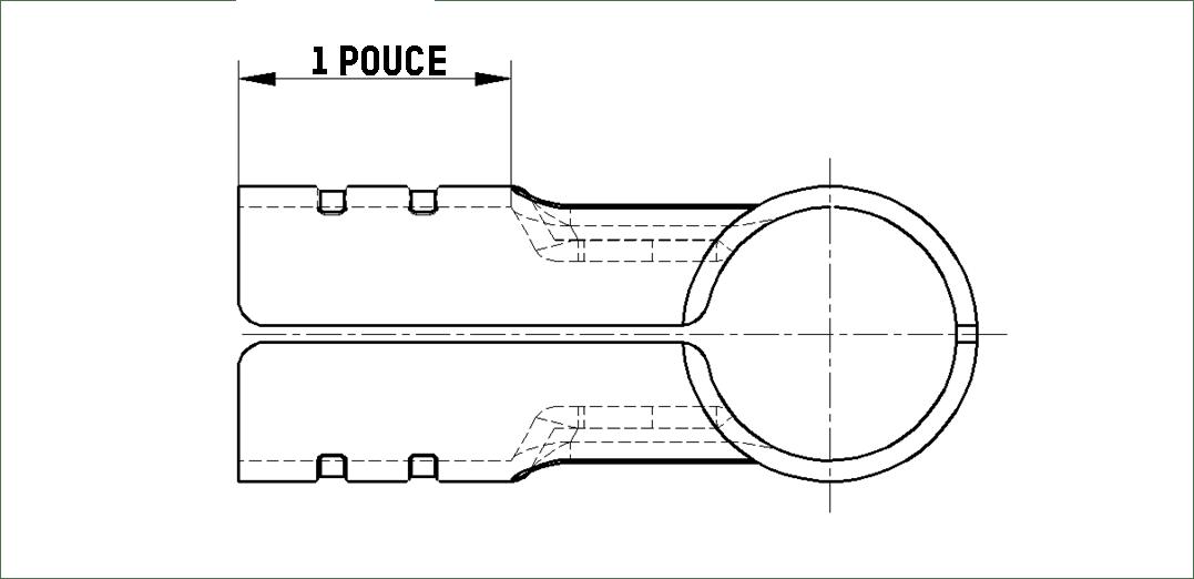 L'espace d'intubation des structures tubulaires