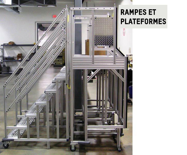 Rampes et plateformes