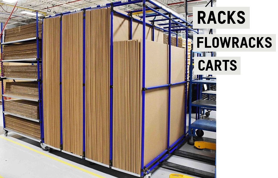 Flexpipe is a great option for racking and carts