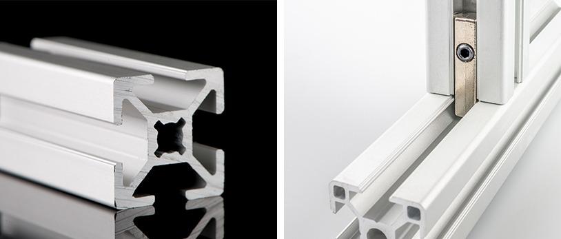 t-slot aluminum extrusions