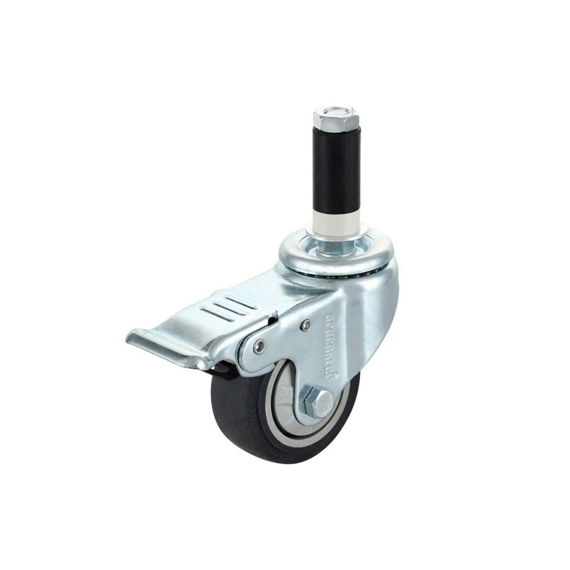 Flexpipe offers 3'' and 4'' diameter casters.