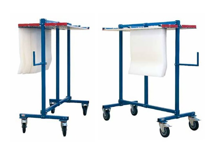 Chariot pour matrices rotatives