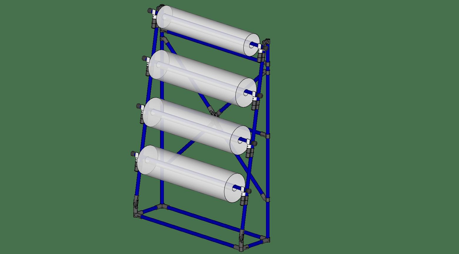 Stationary Reel Rack