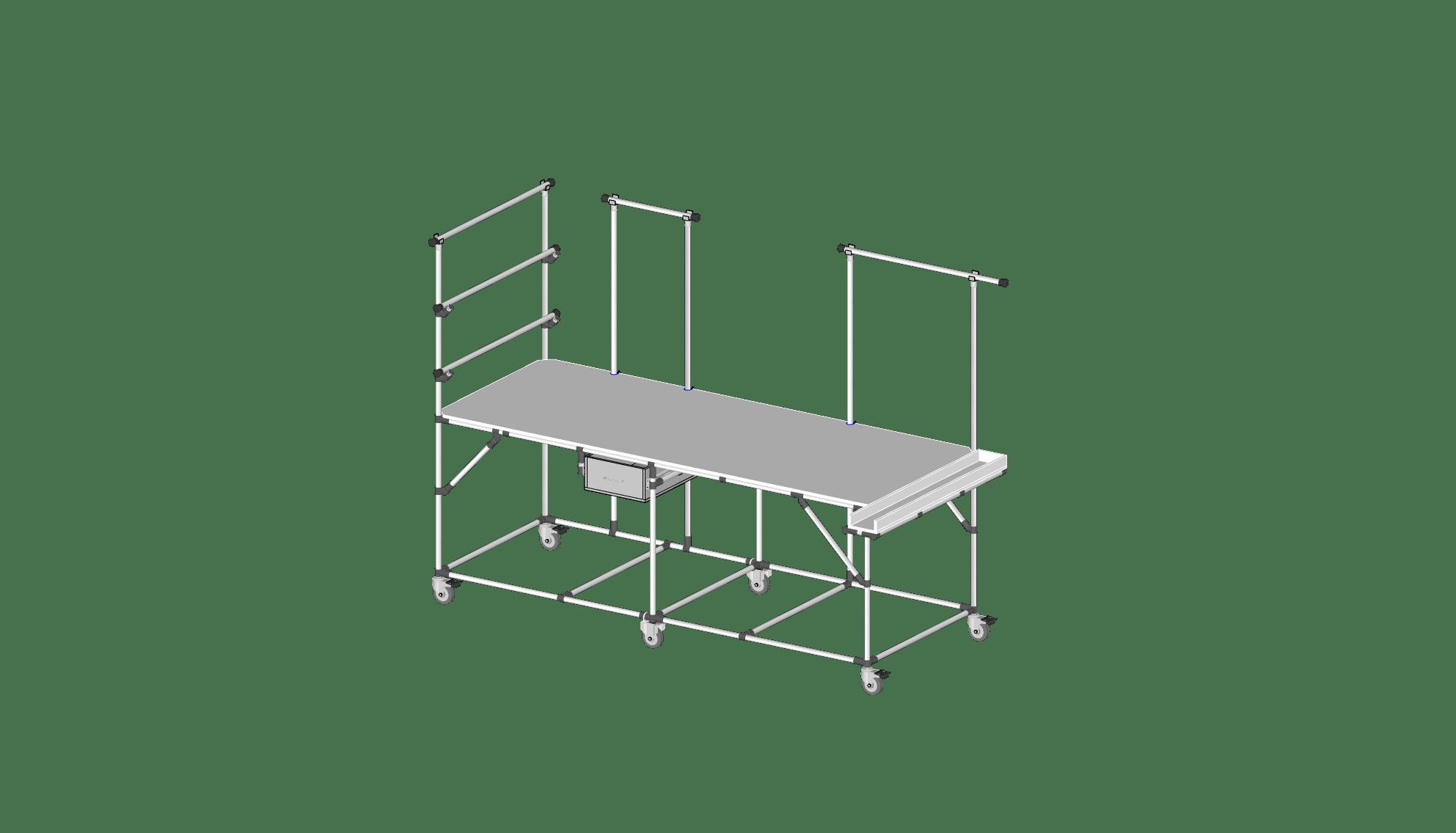 ENSACHABLE TABLE