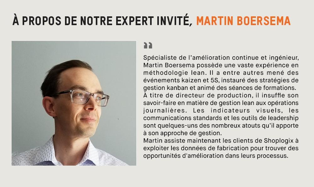 Martin Boersema, spécialiste en amélioration continue
