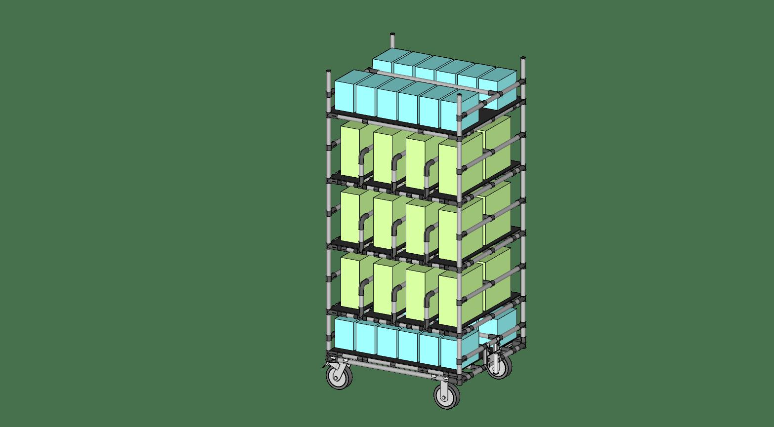 Small Box Transport Cart