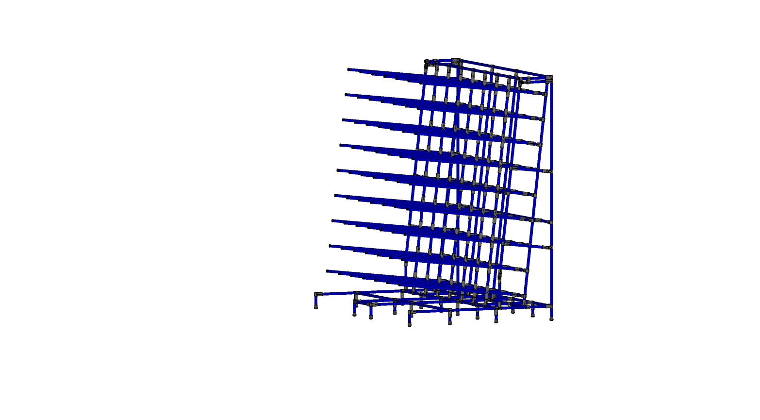 Rack Entreposage de Hose hydraulique
