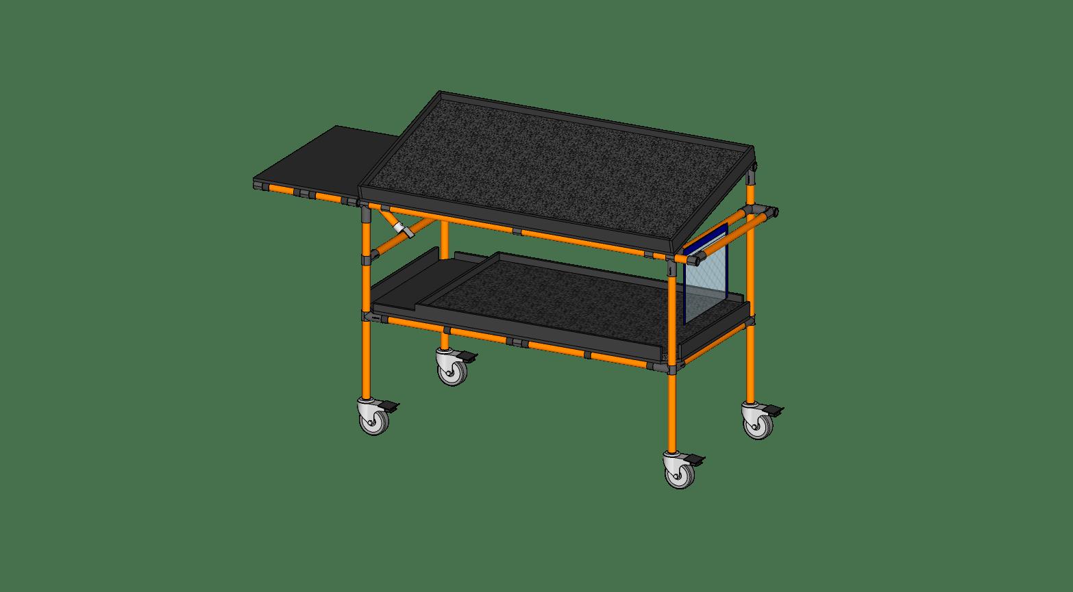 Mold Maintenance Cart