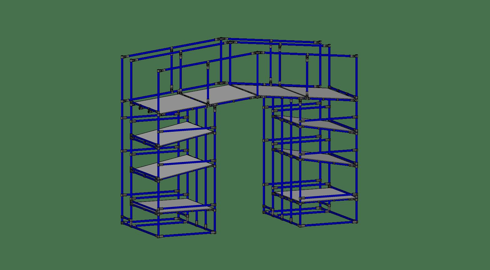 Packing Station Box Rack