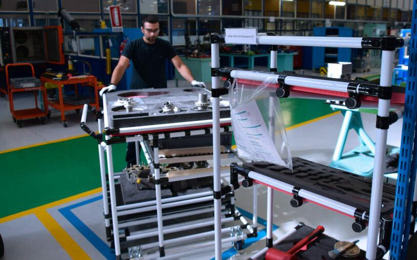 À l'usine Avio Aero de Bielsko-Biała, la notion de collaboration est la clé du succès. Source : magazineabout.com
